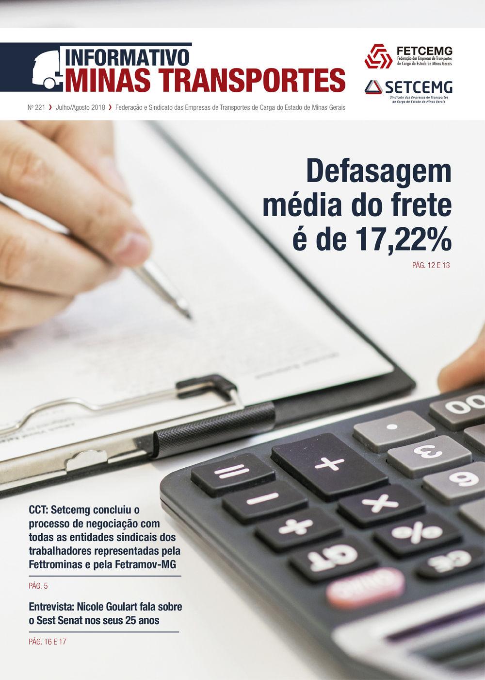 Informativo Minas Transportes - nº 221