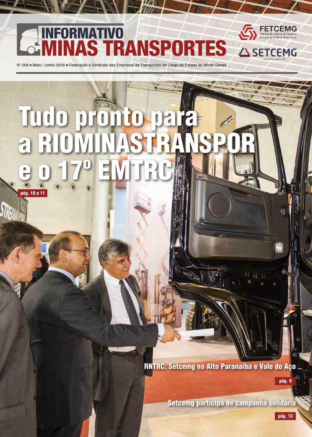 Informativo Minas Transportes - nº 208