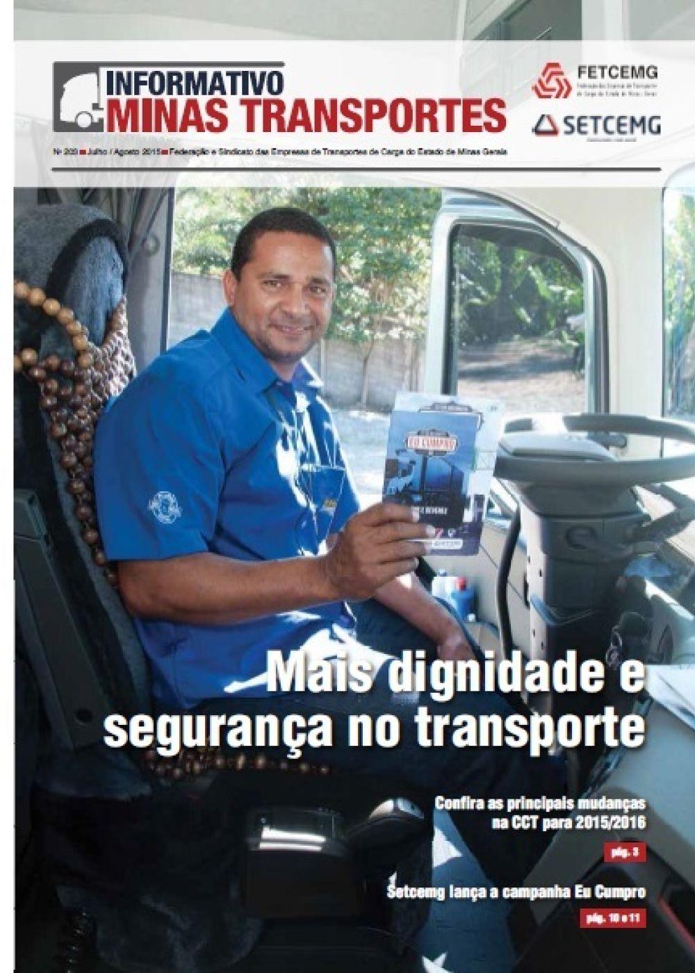 Informativo Minas Transportes - nº 203