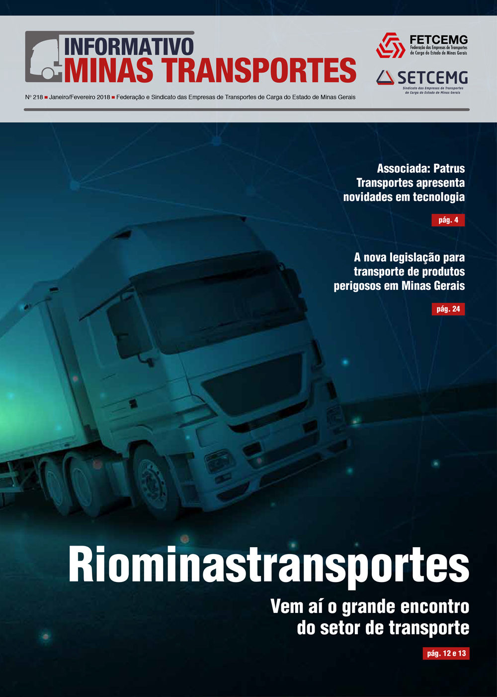 Informativo Minas Transportes - nº 218