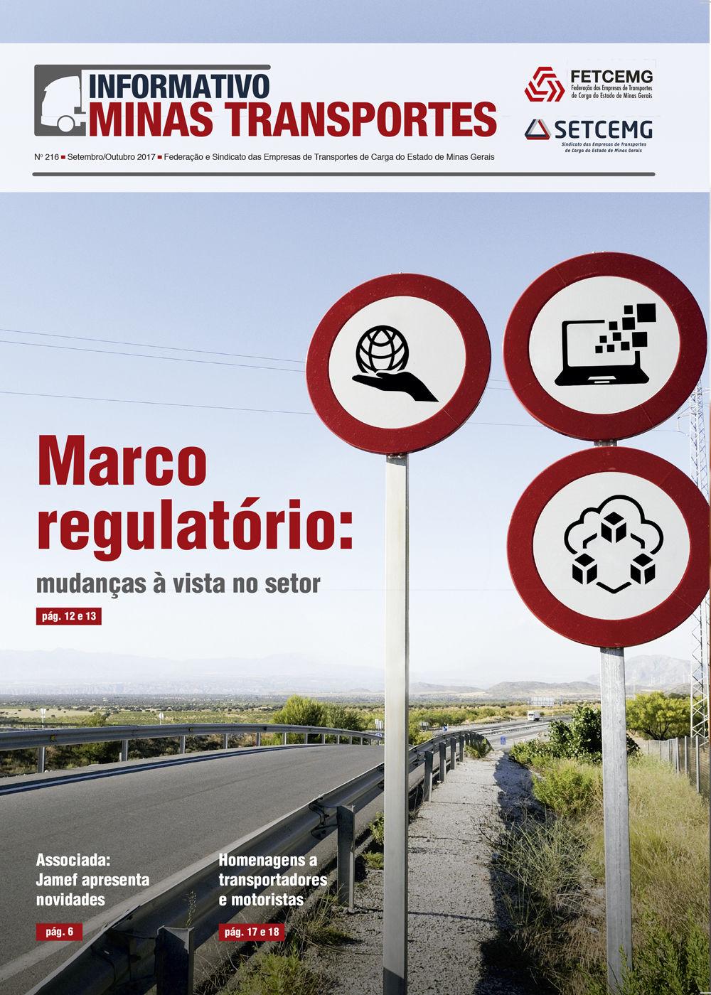 Informativo Minas Transportes - nº 216