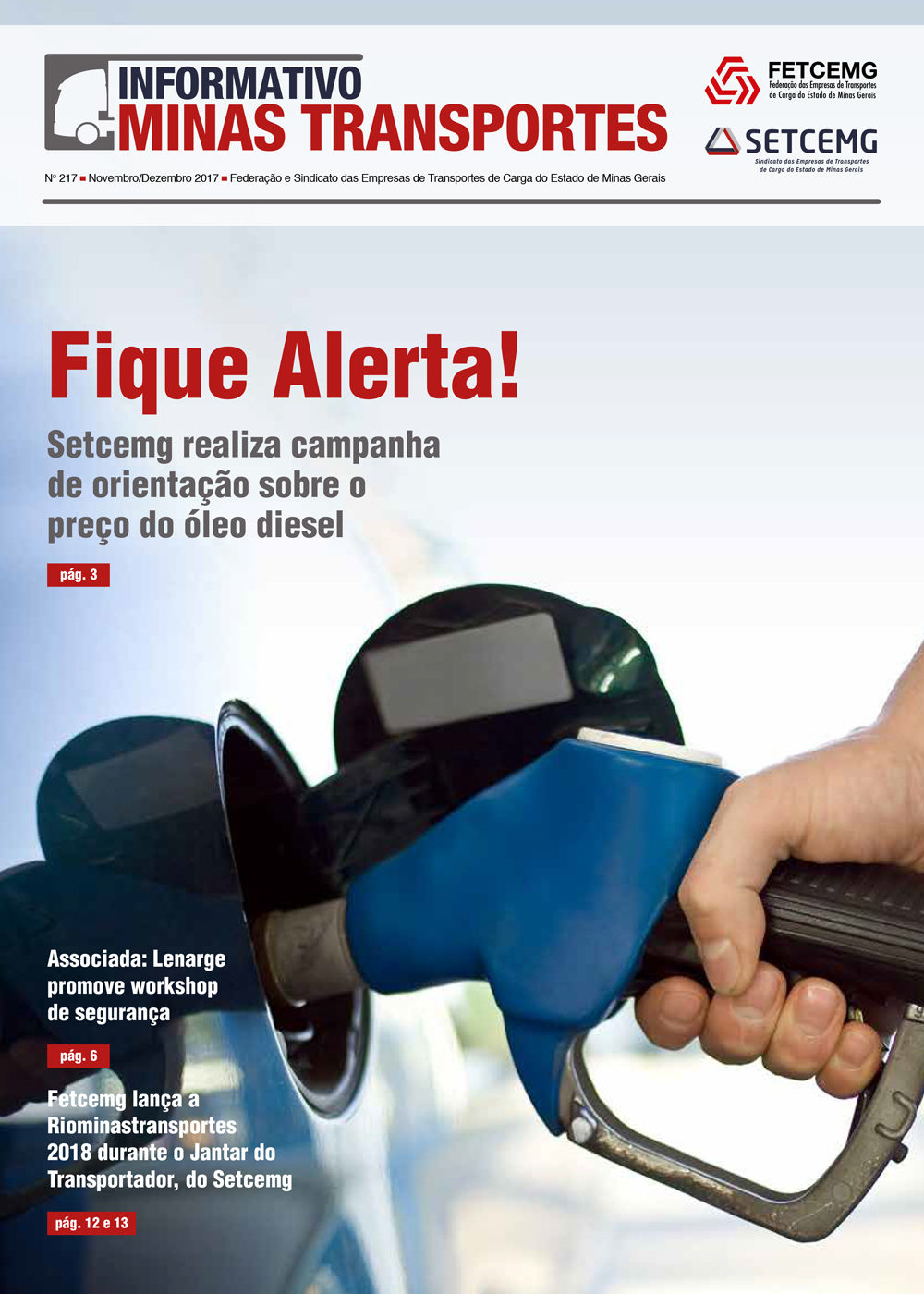 Informativo Minas Transportes - nº 217