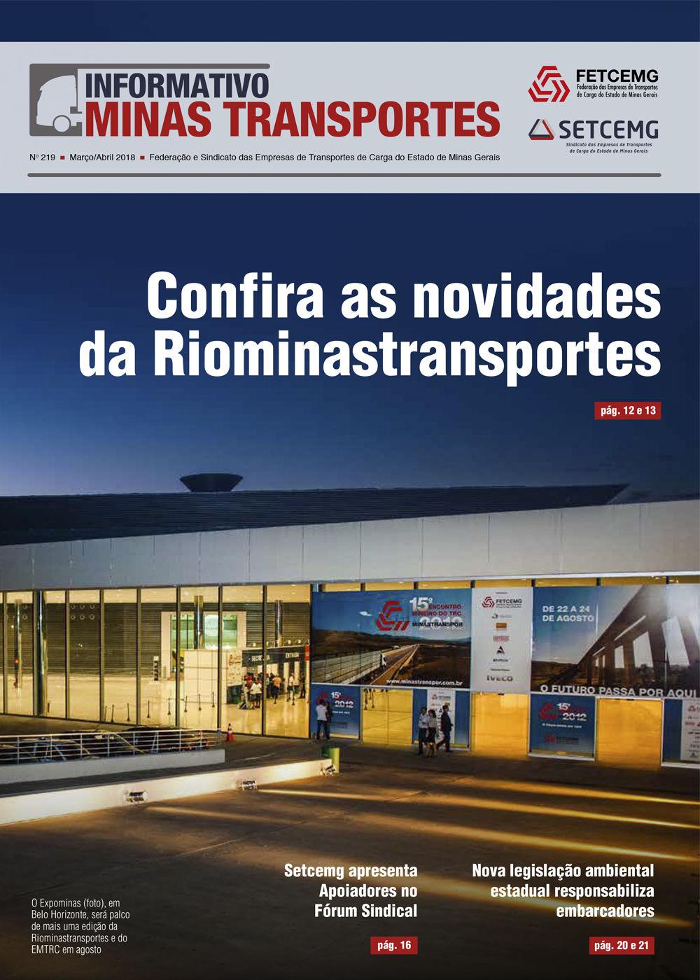 Informativo Minas Transportes - nº 219