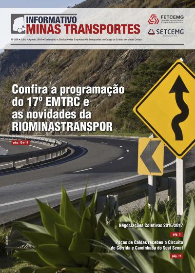 Informativo Minas Transportes - nº 209