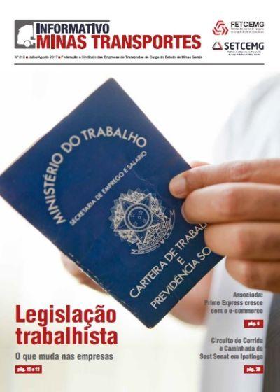 Informativo Minas Transportes - nº 215