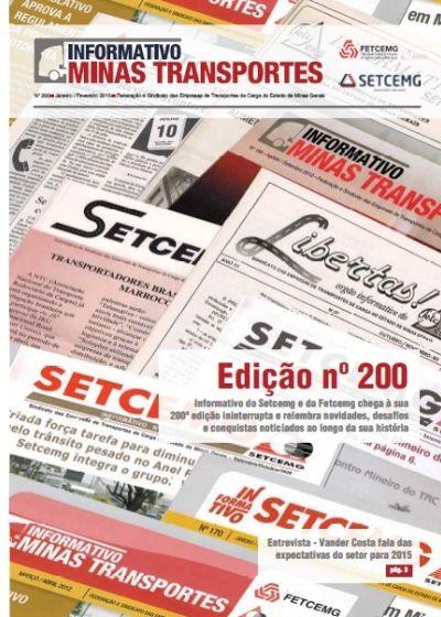 Informativo Minas Transportes - nº 200