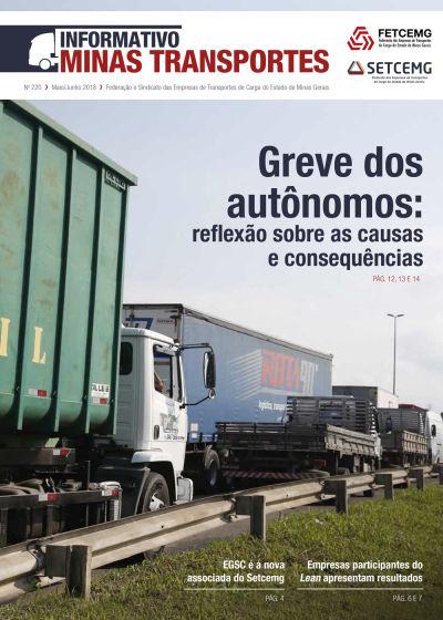 Informativo Minas Transportes - nº 220