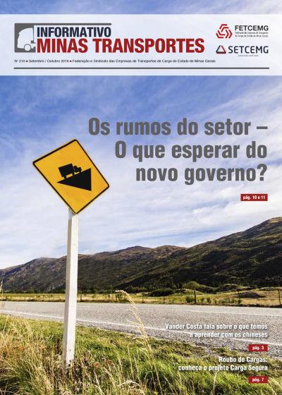 Informativo Minas Transportes - nº 210