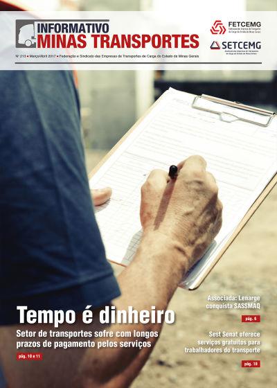 Informativo Minas Transportes - nº 213