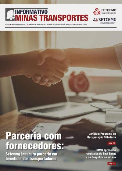 Informativo Minas Transportes - nº 212