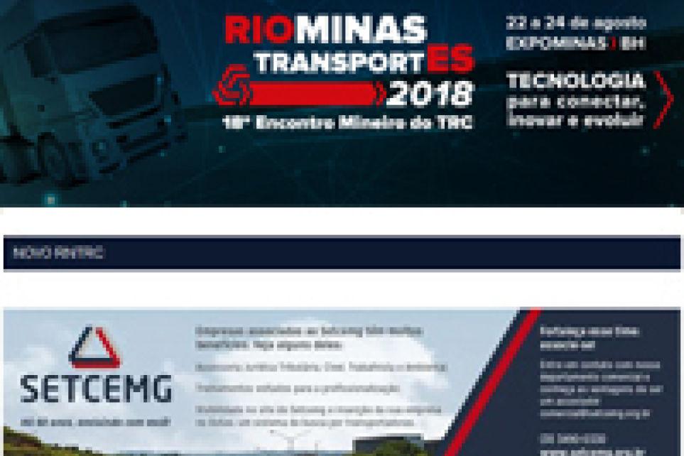 Boletim Eletrônico Semanal - 09 de março de 2018 - Ano XV N° 843