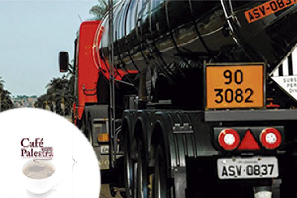 Café com Palestra discutirá legislação do transporte de produtos e resíduos perigosos