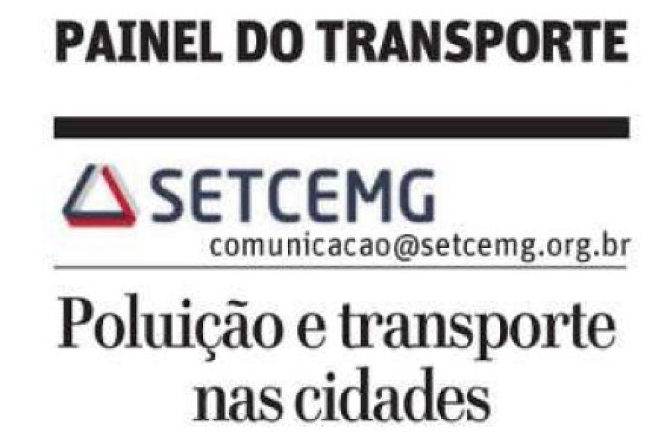 PAINEL DO TRANSPORTE - POLUIÇÃO E TRANSPORTE NAS CIDADES