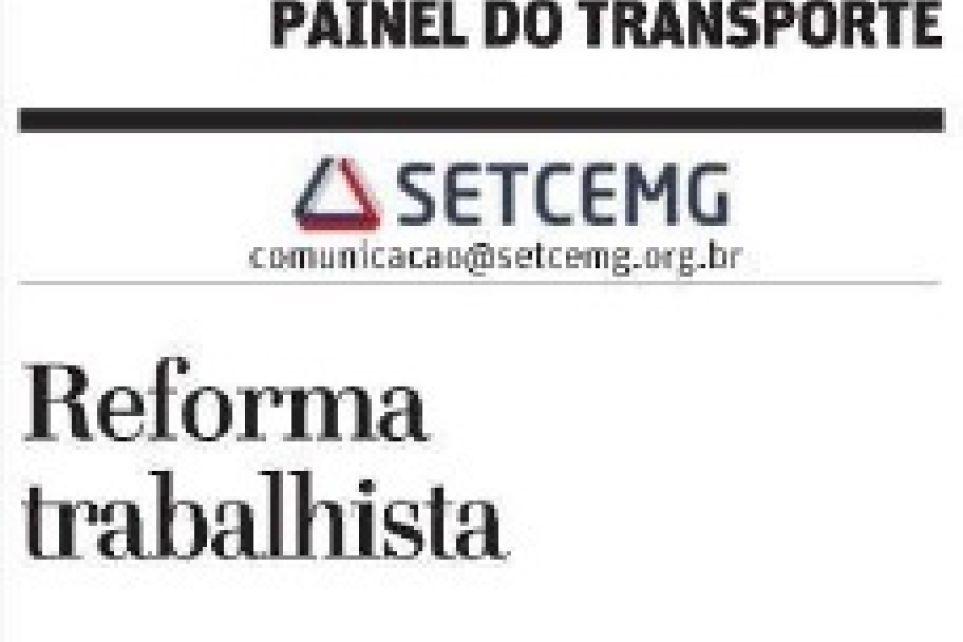 Painel do Transporte - Reforma Trabalhista