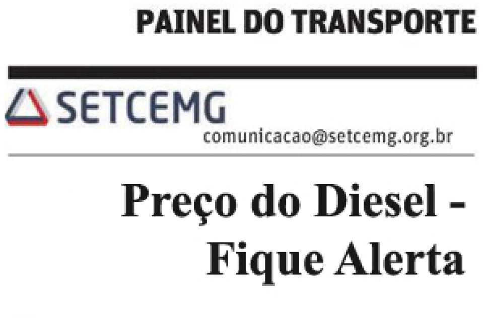 Painel do Transporte: Preço do Diesel - Fique Alerta