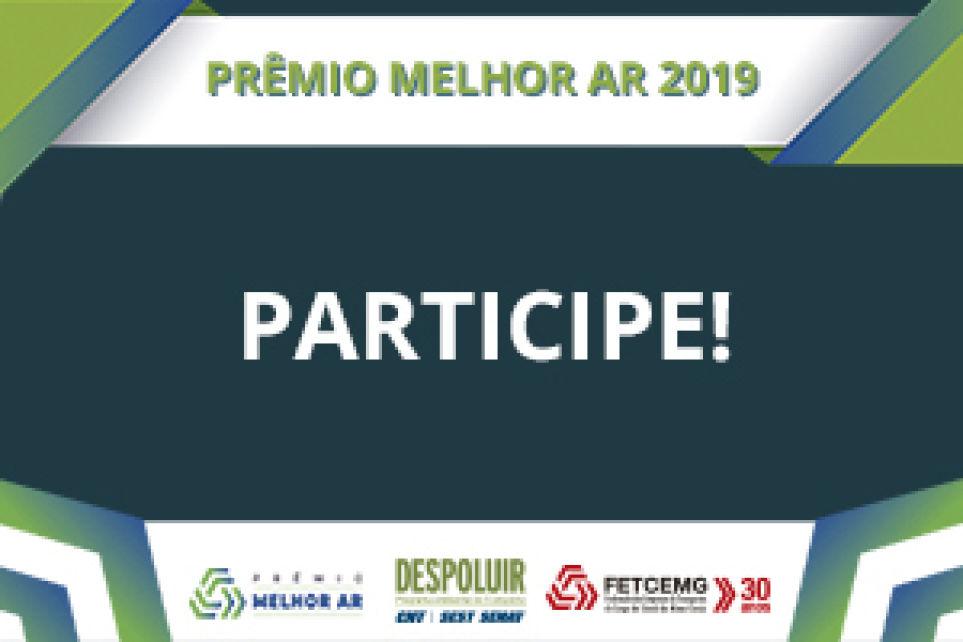 Participe do Prêmio Melhor Ar 2019